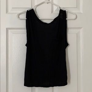 NWT SoulCycle Crop open back tank top